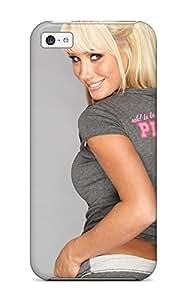 LJF phone case Snap-on Case Designed For Iphone 5c- Sara Jean Underwood