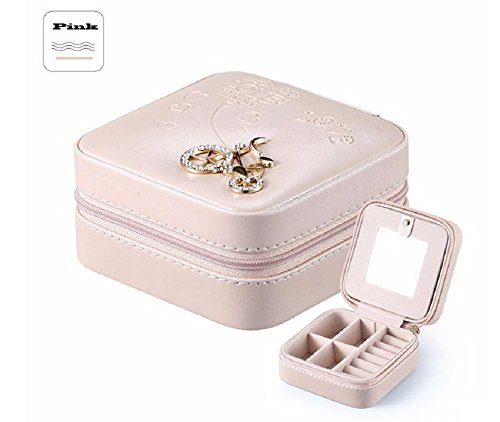Diy Frozen Costume Elsa (Jewelry Packaging Box Casket Box For Exquisite Makeup Case Cosmetics (Pink))