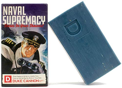 Duke Cannon Limited Edition WWII Era Big Ass Brick of Soap for Men, 10oz - Naval Supremacy