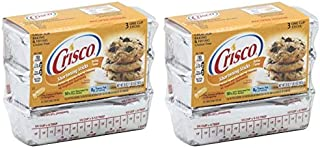 product image for Crisco Baking Stickes Butter Flavor All Vegetable Shortening, 20 Ounce (Pack of 2)