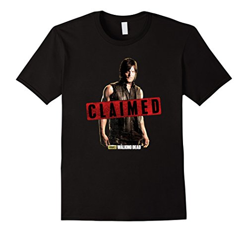 Men's The Walking Dead Daryl Dixon Claimed T-Shirt Medium...