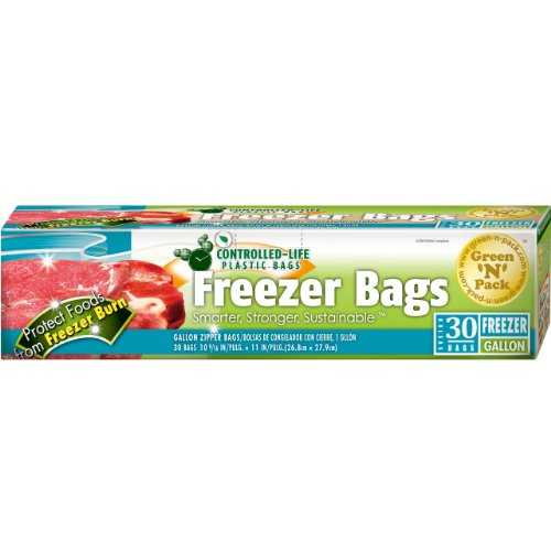 GreenNPack Count Zipper Freezer Bags product image