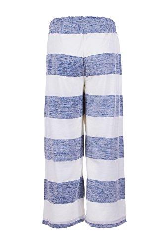 super. Natural W Water frontal Culotte Printed Merino Pantalón Fresh White/Bold Stripe Print