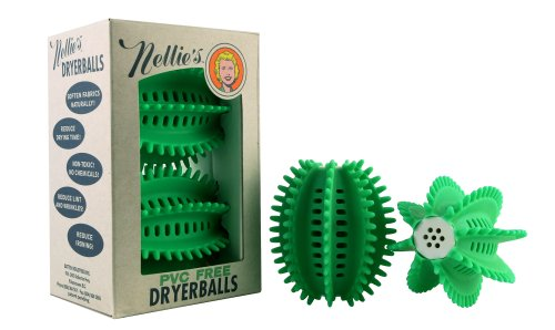 Nellie's IMDB-E PVC Free Dryer Balls (Nellies All Natural Dryer Balls)