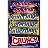 Nestle Chocolate Bars 30- 12 Butterfinger, 6 Crunch, 8 BabyRuth, 4 100Grand