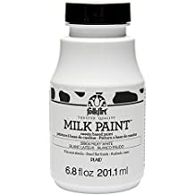 FolkArt Milk Paint in Assorted Colors (6.8 oz), 38904 Milky White