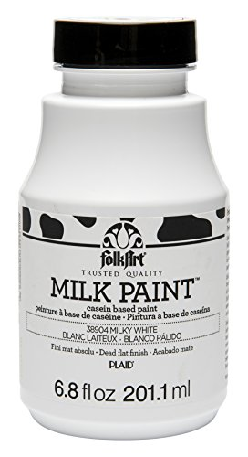 FolkArt Milk Paint in Assorted Colors (6.8 oz), 38904 Milky White ()