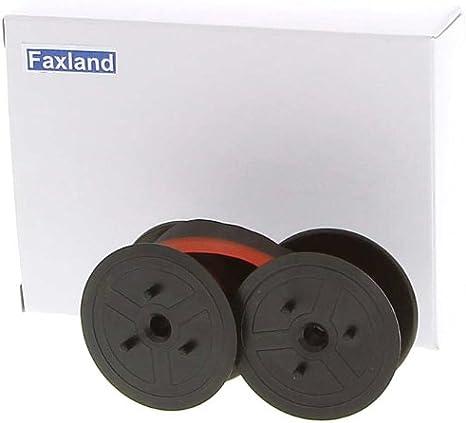 Farbband f/ür die Brother AX 440 Schreibmaschine Marke Faxland kompatibel