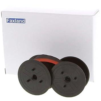 Farbbandfabrik - Cinta de color rojo para Olympia CPD 5212, compatible marca Fax País: Amazon.es: Oficina y papelería