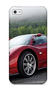Iphone 5c Hard Back With Bumper Silicone Gel Tpu Case Cover Pagani Vehicles Cars Other