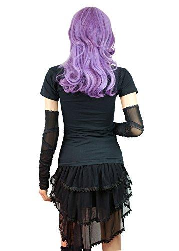 Gothic Lolita Romantic Rock wie Tournüre Rüschen zum binden Gr. L/XL