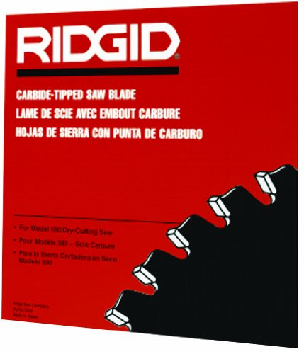 Ridgid 71692 14-Inch Carbide-Tipped 80 Tooth Blade for Dry Cut Saw by Ridgid