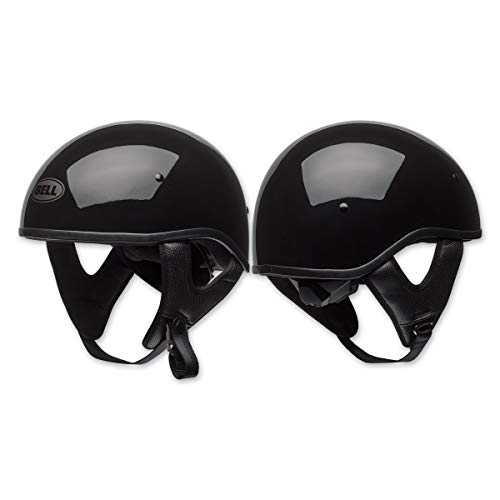 Bell Pit Boss Sport Open-Face Motorcycle Helmet (Solid Black, Large) by Bell