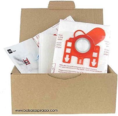 10 Bolsas + 2 microfiltros recortables para Aspirador Hoover H60 ...