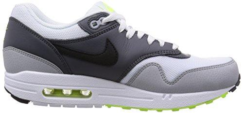 Nike Nike Air Max 1 Essential, Grey - Zapatillas de material sintético hombre White/Black/Dark Grey/Wlf Gry