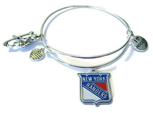 New York Rangers Charm (NEW YORK RANGERS OFFICIALLY LICENSED 4 CHARM BRACELET)