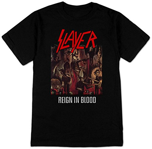 Slayer- Reign In Blood T-Shirt Size XXL - Slayer T-shirts Band