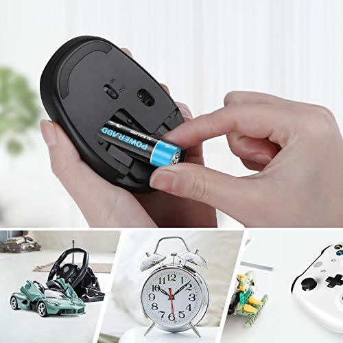 POWERADD 20pcs Piles Alcalines Type AA 1,5V Longue Durée Pile LR6 pour Jouet, Réveil, Télécommande Portable et d'Autres Dispositifs Quotidiens