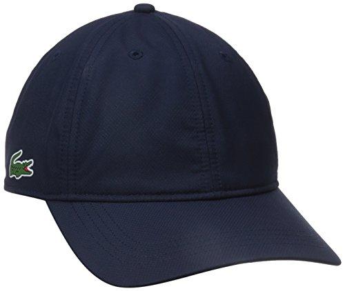Lacoste Men's Sport Taffeta Cap, Navy Blue, One Size