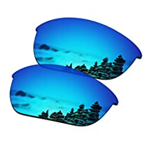 SmartVLT Polarized AR Coated Ice Blue Replacement Lenses for Oakley Half Jacket 2.0 OO9144 Sunglass