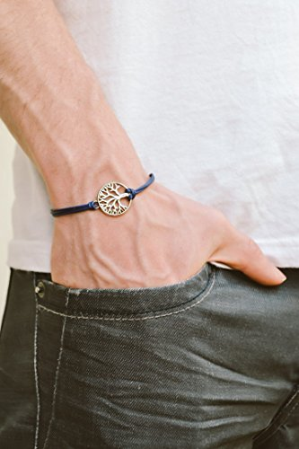 bracelet silver charm spiritual jewellery product image