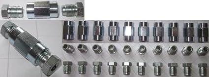 20 collegamenti a vite e 10 connettori per circuito frenante, bordo da 4,75 mm, qualità professionale, prodotto tedesco qualità professionale P.Sonderes