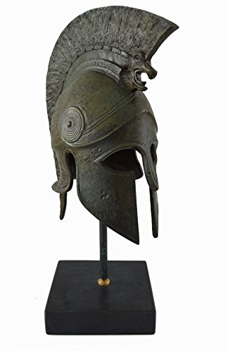 Greek Spartan Corinthian Helmet -Griffin -Antique Style-Bronze Item-Unique (Bronze Greek Helmet)