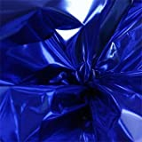 Blue Metallic Sheets - 100 Sheets of 18 inch x 30 Inch Blue Mylar