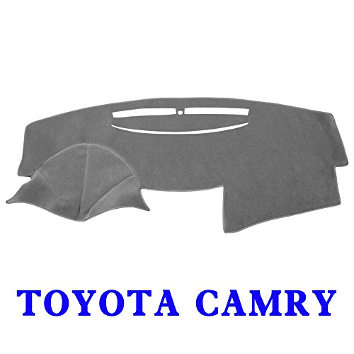 JIAKANUO Auto Car Dashboard Dash Board Cover Mat Fit for Toyota Camry 2007-2011 (Camry 07-11, ()