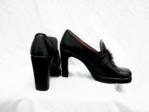 Noir Butler Kuroshitsuji Ciel Cosplay Chaussures Bottes Faites Sur Commande