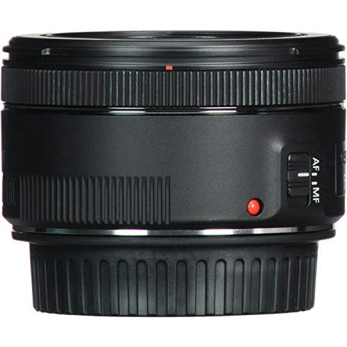 Canon EF 50mm f/1.8 STM Lens with USA Warranty + Filter Kit + Tripod + Lens Cleaning Pen + Accessory Bundle by The Imaging World (Image #5)