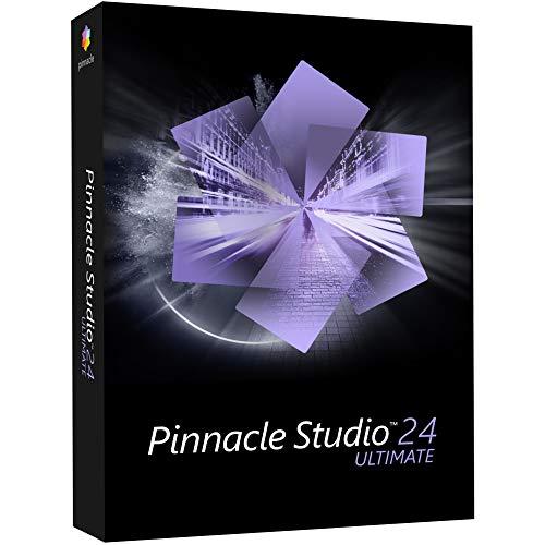 Pinnacle Studio 24 Ultimate | Uw complete, geavanceerde video-editor [PC Disc]|Ultimate|1 Device|1 year|PC|Disc