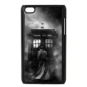 CTSLR Doctor Who Hard Case Cover Skin for iPod Touch 4 4G 4th Generation- 1 Pack - Black/White - 6 by lolosakes