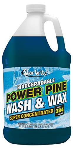 Star brite Power Pine Concentrated Wash & Wax, Biodegradable