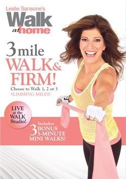 Leslie Sansone - 3 Mile Walk and Firm DVD