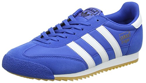 Adulte Og Dragon De gum Chaussures Fitness White Adidas Mixte blue footwear Bleu n6wY1q65