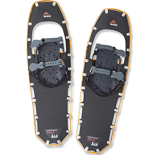 (MSR Lightning Trail Hiking Snowshoes, 25-Inch Pair, Yellow)