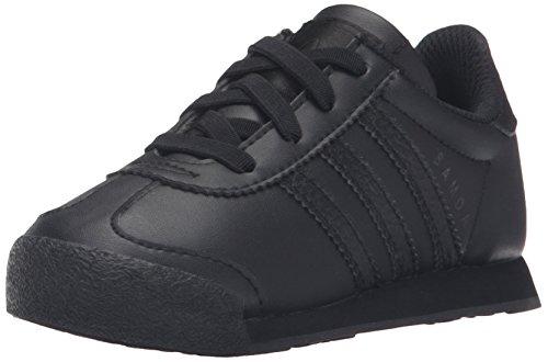 adidas Originals Kids' Samoa I Sneaker, Black/Black/Black, 4 M US Toddler