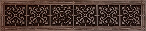 Decorative Grille, Vent Cover, or Return Register. Made of Urethane Resin to fit over a 6