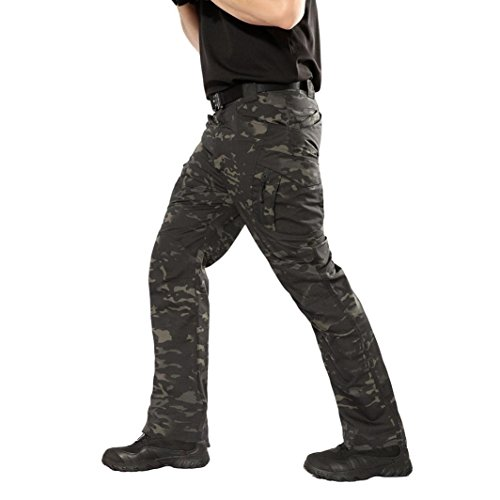 PASATO New!Men's Casual Tactical Military Army Combat Outdoors Work Trousers Cargo Pants(Camouflage, S) by PASATO (Image #5)