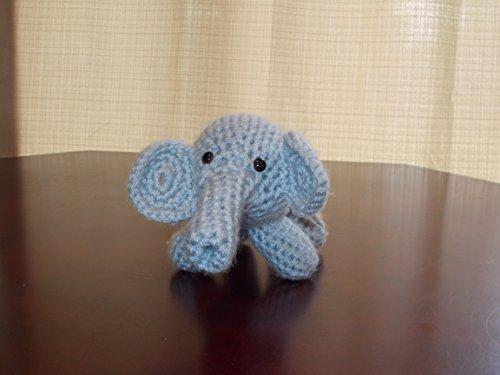 Elephant Amigurumi Elephant Crochet Knitted Stuffed animals doll ...   375x500