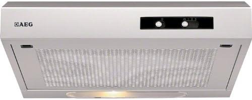 AEG DU3150-ML Unterbauhaube/Breite: 49.8 cm/Silber/Halogenlampe / 3 Leistungsstufen