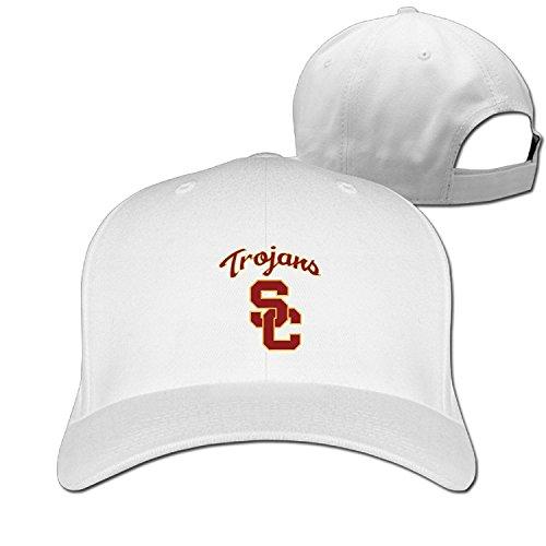 USC Trojans Jersey Logo Adjustable Solid Baseball Hat