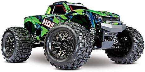 Traxxas Traxxas 90076-4GRN HOSS Monster-Truck sin escobillas 1:10 RTR TSM SR VXL-3S - Grün Auto RC