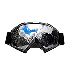 Wellovar Motorcycle Goggles,ATV Goggles ...