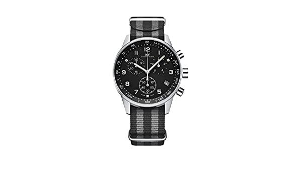 Amazon.com: RUF Schaffhausen - Swiss Aviation Watches - Swiss Made - Swiss Quartz - Pilot Chronograph - NATO strap: Cell Phones & Accessories