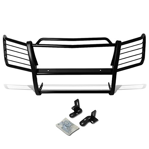 Avalanche Brush Guards - DNA Motoring GRILL-G-005-BK Front Bumper Brush Grille Guard