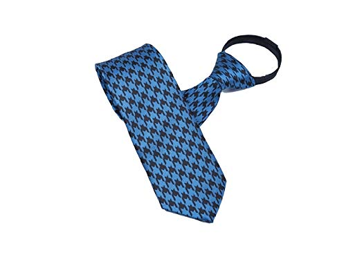 ADream Great Casual Occasion Men's Men's Necktie Formal Tie Fashion Zipper Lattice Blue rrRUqw