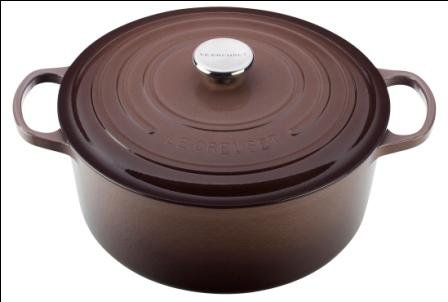 Le Creuset Signature Round French Oven, Truffle - Truffle by Le Creuset