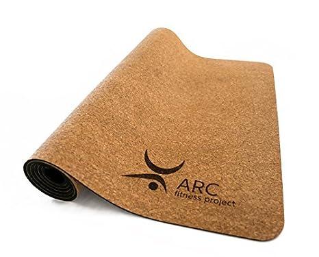 Amazon.com: Arc Proyecto de fitness yoga estera de corcho ...